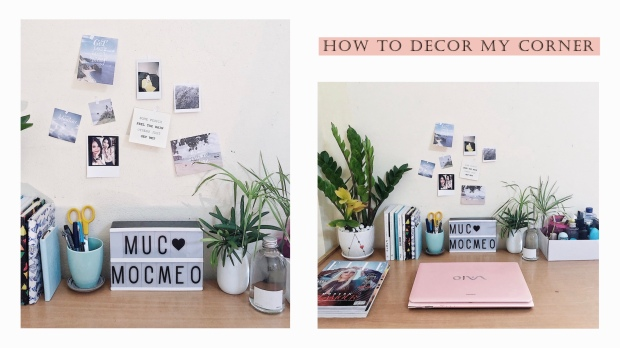 How to decor my corner